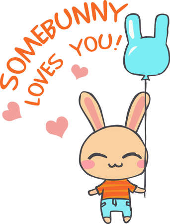 cony: A sweet bunny is a wonderful childs design.