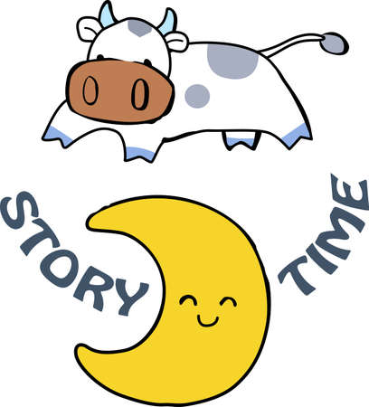 Nursery rhymes are a great decoration for a nursery.