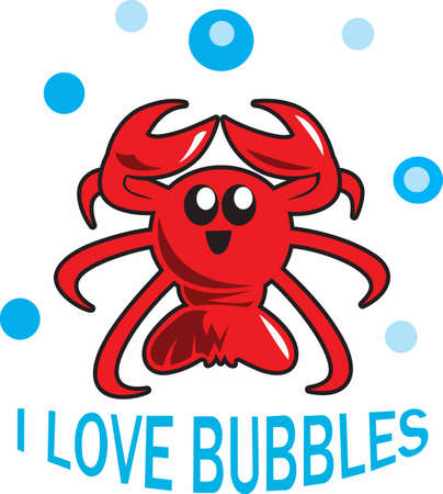 This cute lobster design is perfect for those born in Maine.  Everyone loves lobsters!