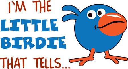 feathered: This cute little bird is perfect for little brother.