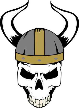 このバイキングのロゴとチームの精神を示します。 誰もがそれを愛する!