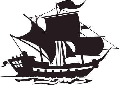 marauder: Show your team spirit with this pirate logo.  Everyone will love it! Illustration