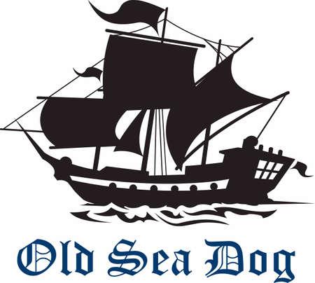 この海賊ロゴとチームの精神を示します。 誰もがそれを愛する!