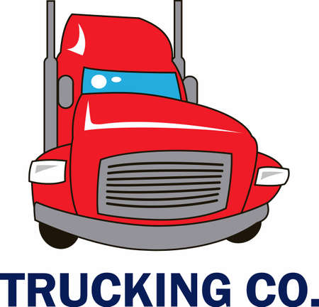 The perfect design to promote your trucking company from Great Notions.
