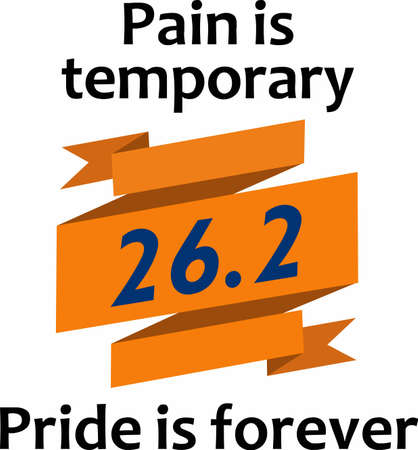 Pain is temporary, pride is forever.  Give this to your favorite runner to support them.