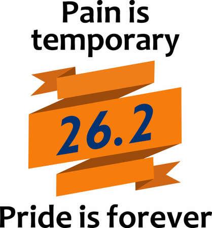 Pijn is tijdelijk trots is voor altijd. Geef dit aan uw favoriete agent om hen te steunen.
