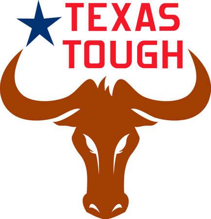 Texas Longhorns UT toon uw trots op het spel met dit ontwerp van Great Notions. Stockfoto - 45450966