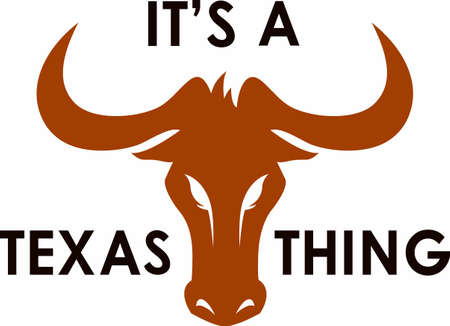 Texas Longhorns UT toon uw trots op het spel met dit ontwerp van Great Notions.