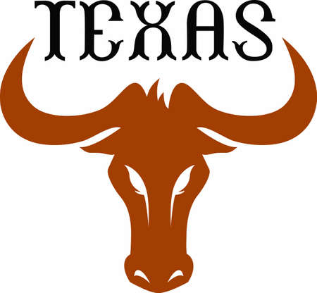 notions: Texas UT Longhorns show your pride at the game with this design from Great Notions.