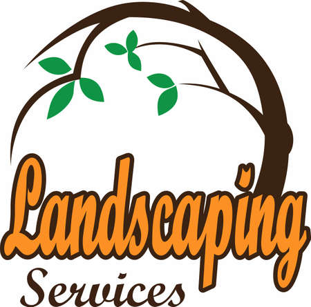 paysagiste: La conception parfaite pour montrer votre service de l'aménagement paysager et attirer de nouveaux clients.