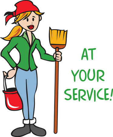 maid cleaning: The perfect design for your maid cleaning service company!