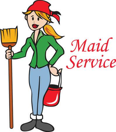 sirvientes: El dise�o perfecto para su limpieza empresa de servicios de limpieza!
