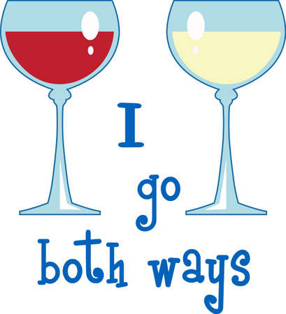 tough: There are many tough choices to make.  Do you like red white or white wine Illustration