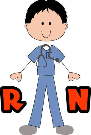 appreciated: Male nurses are dedicated to healing.  Show them that they are appreciated with this design.