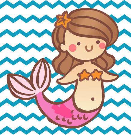 mythological character: Make a fun summer project with a cute sea creature.