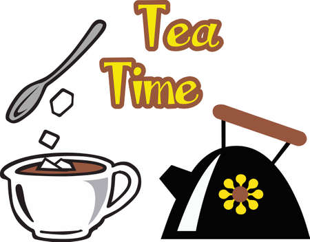 A nice cup of tea will make a wonderful tea time project.