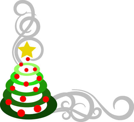 tannenbaum: Christmas is the day that holds all time together. Decorate for the holiday with this nice tree. Illustration