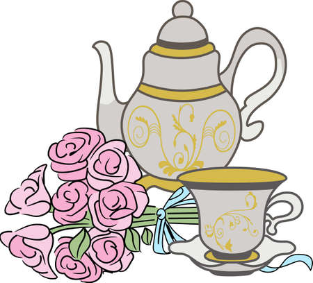 Tea set Reklamní fotografie - 49801940