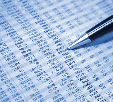 Accounting report Stock Photo - 4166211