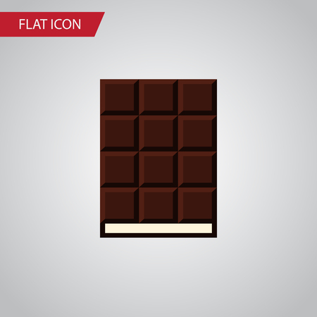 calorie: Isolated Wrapper Flat Icon. Dessert Vector Element Can Be Used For Wrapper, Dessert, Chocolate Design Concept. Illustration