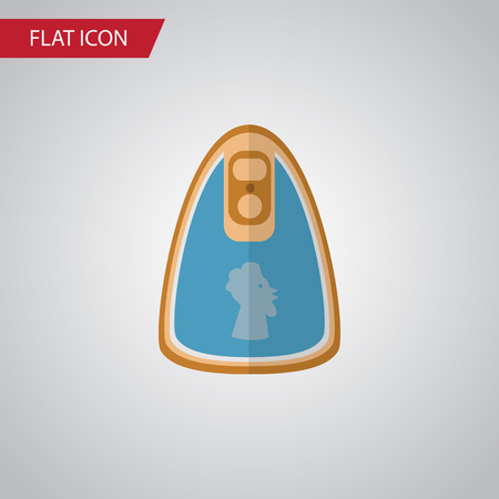 Isolated Fillet Flat Icon. Canned Chicken Vector Element Can Be Used For Fillet, Canned, Chicken Design Concept. Иллюстрация
