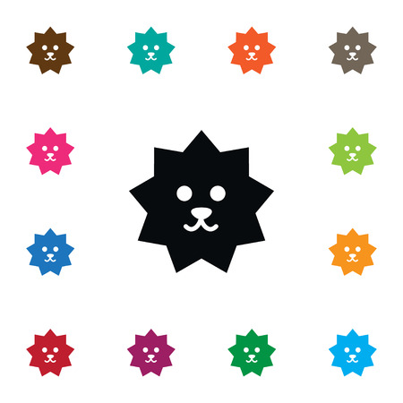 Isolated Crew Cut Icon. Hedgehog  Vector Element Can Be Used For Crew, Cut, Hedgehog Design Concept.