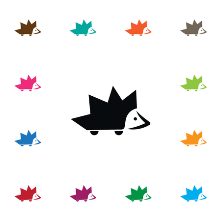 Isolated Barbed Icon. Thorny Vector Element Can Be Used For Thorny, Barbed, Hedgehog Design Concept. Illustration
