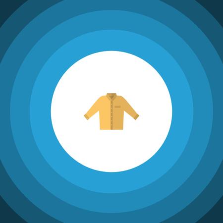 Banyan Vector Element peut être utilisé pour la chemise, Banyan, Man Design Concept. Icône plate chemise isolée. Banque d'images - 83009924