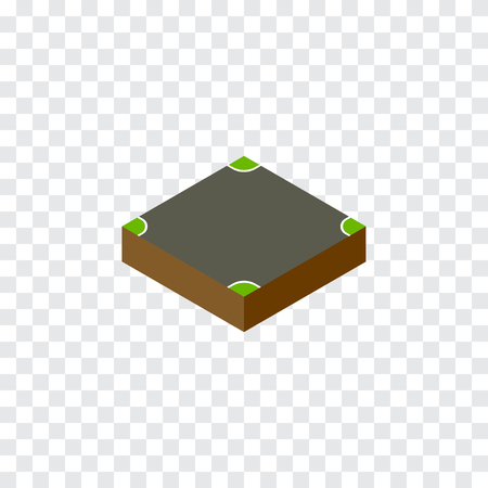 speedway: Crossroad Vector Element Can Be Used For Crossroad, Intersection, Road Design Concept.  Isolated Intersection Isometric. Illustration
