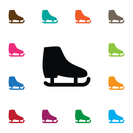 skid: Freeze Vector Element Can Be Used For Skating, Skid, Freeze Design Concept.  Isolated Skid Icon. Illustration