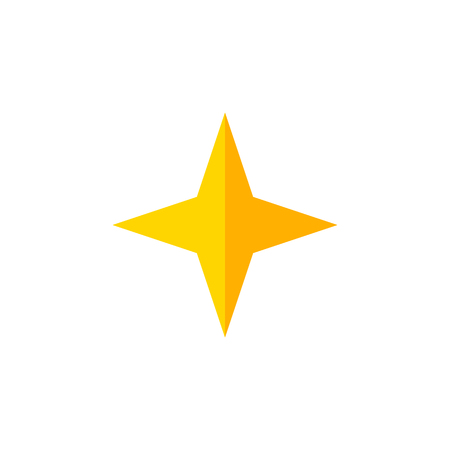 Star Vector Element Can Be Used For Star, Asterisk, Sky Design Concept.  Isolated Asterisk Flat Icon.