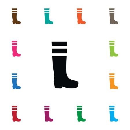 Isolated Footwear Icon Illustration