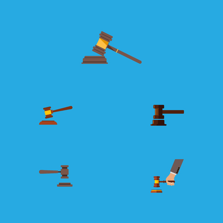 Flat Icon Lawyer Set Of Crime, Legal, Court And Other Vector Objects. Also Includes Court, Law, Courthouse Elements.