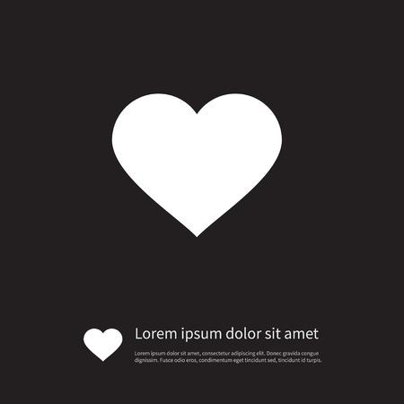 情事, ハート, 愛のデザイン コンセプトの情事ベクター要素を使用できます。 孤立した愛のアイコン。