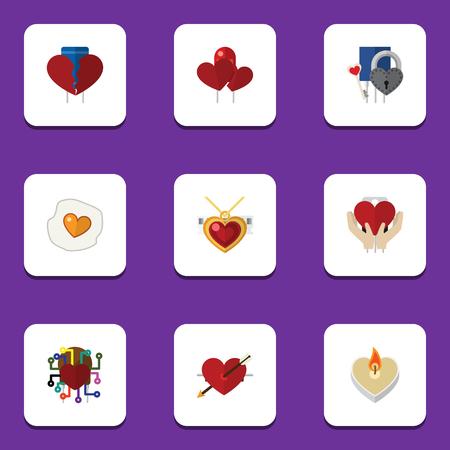 離婚、愛、心、他のベクトル オブジェクト保存のフラット アイコン愛セットです。また離婚, キー, 感情の要素が含まれています。