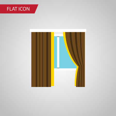 Isolated Frame Flat Icon. Glass Vector Element Can Be Used For Frame, Glass, Window Design Concept. Ilustrace