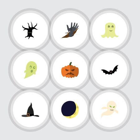 Flat Icon Halloween.