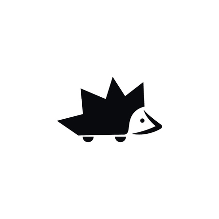 Isolated Barbed Icon. Element Can Be Used For Thorny, Barbed, Hedgehog Design Concept.