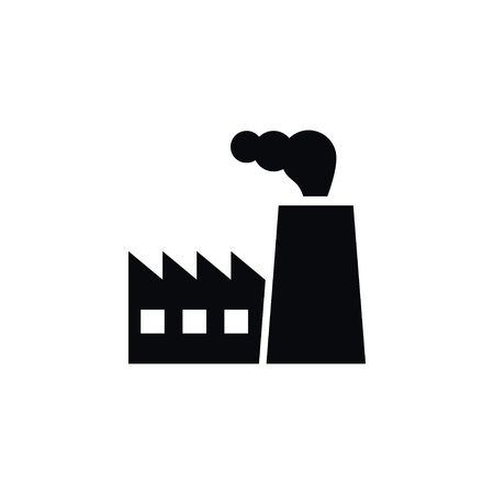 Isolated Architecture Icon. Industry Vector Element Can Be Used For Industry, Architecture, Factory Design Concept.