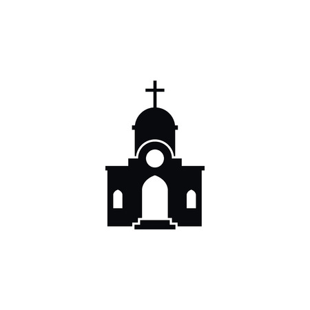 Isolated Structure Icon. Christian Vector Element Can Be Used For Structure, Christian, Church Design Concept.