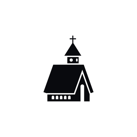 Isolated Christian Icon. Structure Vector Element Can Be Used For Structure, Christian, Church Design Concept.