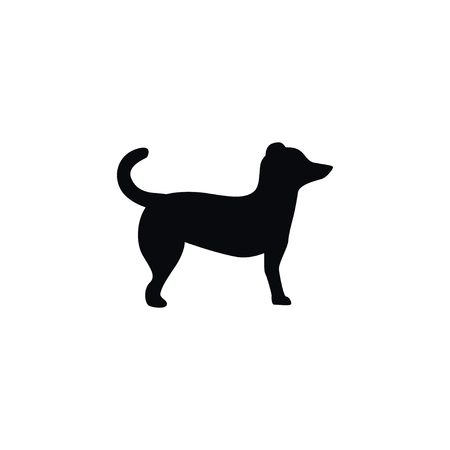 Isolated Pooch Icon. Dog Vector Element Can Be Used For Dog, Animal, Pooch Design Concept.
