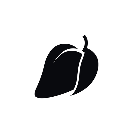 Isolated Fleshy Icon. Mango  Vector Element Can Be Used For Fleshy, Mango, Tropical Design Concept.