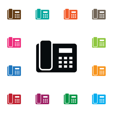 Isolated Call Icon. Illustration