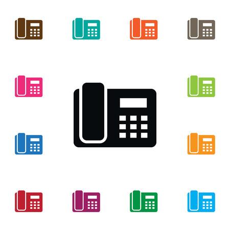 Icône d'appel isolé.