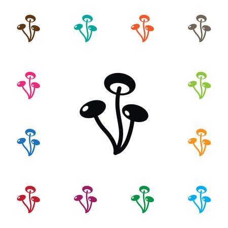 champignon: Isolated Champignon Icon. Boletus Vector Element Can Be Used For Champignon, Mushroom, Darner Design Concept.