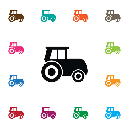power: Agriculture Transport Vector Element Can Be Used For Husbandry, Agriculture, Transport Design Concept.  Isolated Husbandry Icon. Illustration