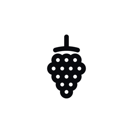 dewberry: Blackberry Vector Element Can Be Used For Bramble, Blackberry, Dewberry Design Concept.  Isolated Dewberry Icon. Illustration