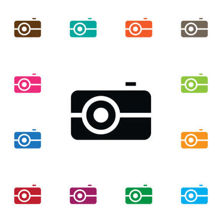 camera film: Media Vector Element Can Be Used For Media, Picture, Camera Design Concept.  Isolated Picture Icon.
