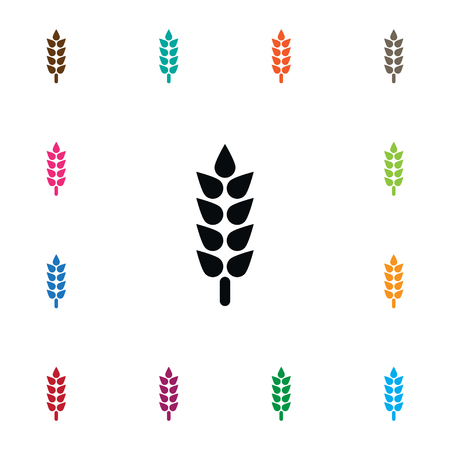 Isolated Sheaf Icon. Barley Vector Element Can Be Used For Barley, Spike, Sheaf Design Concept.